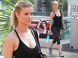 Picture Shows: Joanna Krupa  May 01, 2015    Reality star Joanna Krupa is seen hitting the gym for a workout in West Hollywood, California. Joanna's reality series 'Real Housewives Of Miami' has been off the air since November 2013, but she has stayed busy with other projects, including a role in 'Poland's Next Top Model'.     Exclusive All Rounder  UK RIGHTS ONLY  Pictures by : FameFlynet UK © 2015  Tel : +44 (0)20 3551 5049  Email : info@fameflynet.uk.com