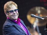 Sir Elton John performs on the  Waldbuehne stage in Berlin, Germany, 05 September 2013. For his tour 'Greatest Hits Live 2013' he plays at five concerts in Germany.  EPA/Florian Schuh  epa03852649