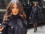 UK CLIENTS MUST CREDIT: AKM-GSI ONLY\nEXCLUSIVE: Salma Hayek and husband Francois-Henri Pinault arrive at Le Cirque Restaurant in New York City for a dinner date.\n\nPictured: Salma Hayek and Francois-Henri Pinault\nRef: SPL1014521  010515   EXCLUSIVE\nPicture by: AKM-GSI / Splash News\n\n
