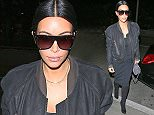 Kim Kardashian seen departing on a flight at LAX to New York.  Pictured: Kim Kardashian Ref: SPL1013907  020515   Picture by: Splash News  Splash News and Pictures Los Angeles: 310-821-2666 New York: 212-619-2666 London: 870-934-2666 photodesk@splashnews.com