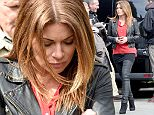 Mandatory Credit: Photo by MCPIX/REX Shutterstock (4743349h)  Alison King  'Coronation Street' filming on location, Manchester, Britain - 01 May 2015  Alison has announced that she is quitting her role of Carla Connor in the soap.