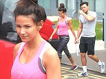EXCLUSIVE: Mark Wright and Michelle Keegan show off their wedding bodies as they leave the gym. Michelle shows off her tan from Dubai and Mark shows off his muscles ahead of his vegas stage do.  Pictured: mark wright, michelle keegan Ref: SPL1013139  010515   EXCLUSIVE Picture by: Splash News  Splash News and Pictures Los Angeles: 310-821-2666 New York: 212-619-2666 London: 870-934-2666 photodesk@splashnews.com