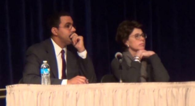 She called for the resignation of New York education commissioner John King (left) who reiterated that he was 'committed' to the reforms