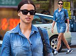 Irina Shayk spotted wearing Chanel accessories, including cool Chanel sneakers, as she heads to Joseph Hanna leather goods boutique in Greenwich Village on Sunday afternoon.  Pictured: Irina Shayk Ref: SPL1015819  030515   Picture by: Allan Bregg / Splash News  Splash News and Pictures Los Angeles: 310-821-2666 New York: 212-619-2666 London: 870-934-2666 photodesk@splashnews.com