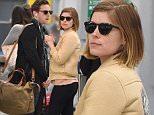 Kate Mara and Jamie Bell arrive at JFK airport in NYC.\n\nPictured: Jamie Bell and Kate Mara\nRef: SPL1016174  030515  \nPicture by: Ron Asadorian / Splash News\n\nSplash News and Pictures\nLos Angeles: 310-821-2666\nNew York: 212-619-2666\nLondon: 870-934-2666\nphotodesk@splashnews.com\n
