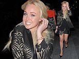 Hollyoaks Jorgie Porter out in Manchester with the girls on her way to celeb hot spot Panacea...03.05.15\n\nPictured: Jorgie Porter\nRef: SPL1015908  030515  \nPicture by: Splash\n\nSplash News and Pictures\nLos Angeles: 310-821-2666\nNew York: 212-619-2666\nLondon: 870-934-2666\nphotodesk@splashnews.com\n