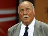 File photo dated 10-06-2009 of Jimmy Greaves. PRESS ASSOCIATION Photo. Issue date: Monday May 4, 2015. Former England and Tottenham striker Jimmy Greaves suffered a severe stroke on Sunday and is in intensive care in hospital, his family has said. See PA story SOCCER Greaves. Photo credit should read Sean Dempsey/PA Wire.