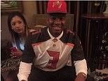 Jamies Winston posted a hastily-deleted picture of him eating crab legs after being selected as the No 1 pick