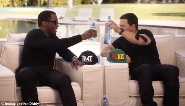 Wahlberg accepts but raises the stake to $250,000 on the mega-fight as he takes on the rapper