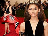 """NEW YORK, NY - MAY 04:  Zendaya attends the """"China: Through The Looking Glass"""" Costume Institute Benefit Gala at the Metropolitan Museum of Art on May 4, 2015 in New York City.  (Photo by Dimitrios Kambouris/Getty Images)"""