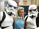 reesewitherspoon 34 minutes ago Feeling the Force at @GMA this AM! #hotpursuitmovie ??#starwars