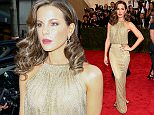 """NEW YORK, NY - MAY 04:  Kate Beckinsale attends the """"China: Through The Looking Glass"""" Costume Institute Benefit Gala at the Metropolitan Museum of Art on May 4, 2015 in New York City.  (Photo by Dimitrios Kambouris/Getty Images)"""
