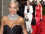 """NEW YORK, NY - MAY 04:  Rita Ora attends the """"China: Through The Looking Glass"""" Costume Institute Benefit Gala at the Metropolitan Museum of Art on May 4, 2015 in New York City.  (Photo by Larry Busacca/Getty Images)"""