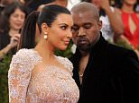 """Kim Kardashian, left, and Kanye West arrive at The Metropolitan Museum of Art's Costume Institute benefit gala celebrating """"China: Through the Looking Glass"""" on Monday, May 4, 2015, in New York. (Photo by Charles Sykes/Invision/AP)"""