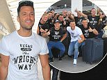 Mark Wright leaves london on his stag trip to Las Vegas Featuring: Mark Wright Where: London, United Kingdom When: 06 May 2015 Credit: WENN.com