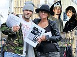 Daniella Westbrook and Brian Harvey reunite after almost 20 years to delIver a petition to Downing Street\n5 May 2015.\nPlease byline: KP/Vantagenews.co.uk