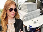 04.MAY.2015- LONDON - UK\n*EXCLUSIVE ALL ROUND PICTURES*\nAMERICAN ACTRESS LINDSAY LOHAN IS SEEN LEAVING THE IVY GARDEN RESTAURANT IN CHELSEA AFTER A LATE LUNCH.\nBYLINE MUST READ : XPOSUREPHOTOS.COM\n***UK CLIENTS - PICTURES CONTAINING CHILDREN PLEASE PIXELATE FACE PRIOR TO PUBLICATION ***\n**UK CLIENTS MUST CALL PRIOR TO TV OR ONLINE USAGE PLEASE TELEPHONE 0208 344 2007**
