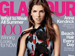Anna Kendrick on the cover of Glamour Magazine June 2015 issue.