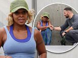 Pictured: Mary J. Blige\nMandatory Credit © Bella/Broadimage\n***EXCLUSIVE***\nMary J Blige works up a sweat in clinging workout gear as she pushes hard while exercising with her personal trainer in Los Angeles\n\n5/5/15, Los Angeles, California, United States of America\n\nBroadimage Newswire\nLos Angeles 1+  (310) 301-1027\nNew York      1+  (646) 827-9134\nsales@broadimage.com\nhttp://www.broadimage.com\n