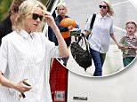 Picture Shows: Naomi Watts  May 05, 2015.. .. Actress and busy mom Naomi Watts is spotted out and about in Brentwood, California with her sons, Alexander and Samuel. Naomi recently became the face of British Airways for a retro themed campaign. .. .. Non Exclusive.. UK RIGHTS ONLY.. .. Pictures by : FameFlynet UK © 2015.. Tel : +44 (0)20 3551 5049.. Email : info@fameflynet.uk.com