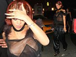Rihanna wears a daring see-hrough top as she hosts the 2015 Met Gala after party at the Up and Down night club in New York City, New York.\n\nPictured: Rihanna\nRef: SPL1017092  050515  \nPicture by: Blayze / Splash News\n\nSplash News and Pictures\nLos Angeles: 310-821-2666\nNew York: 212-619-2666\nLondon: 870-934-2666\nphotodesk@splashnews.com\n