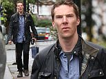 *** Fee of £150 applies for subscription clients to use images before 22.00 on 060515 *** EXCLUSIVE ALLROUNDERBenedict Cumberbatch visits friends on a rainy Sunday in London Featuring: Benedict Cumberbatch Where: London, United Kingdom When: 03 May 2015 Credit: WENN.com