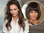 Mandatory Credit: Photo by Startraks Photo/REX Shutterstock (4751496k)\n Katie Holmes\n Katie Holmes celebrating the launch of Alterna Haircare's Bamboo Beach Collection, New York, America - 05 May 2015\n Katie Holmes celebrating the launch of Alterna Haircare's Bamboo Beach Collection\n