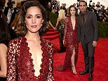 """NEW YORK, NY - MAY 04:  Rose Byrne attends the """"China: Through The Looking Glass"""" Costume Institute Benefit Gala at the Metropolitan Museum of Art on May 4, 2015 in New York City.  (Photo by Dimitrios Kambouris/Getty Images)"""