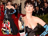 """NEW YORK, NY - MAY 04:  Katy Perry attends the """"China: Through The Looking Glass"""" Costume Institute Benefit Gala at the Metropolitan Museum of Art on May 4, 2015 in New York City.  (Photo by Larry Busacca/Getty Images)"""