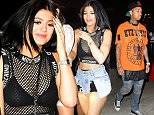 Kylie Jenner and Tyga attend the Met Gala after party together alongside friends and Kylie's sister Kendall.  Pictured: Tyga Ref: SPL1017467  050515   Picture by: 247PAPS.TV / Splash News  Splash News and Pictures Los Angeles: 310-821-2666 New York: 212-619-2666 London: 870-934-2666 photodesk@splashnews.com
