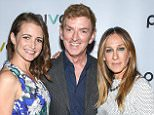"""NEW YORK, NY - MAY 05:  (L-R) Kristin Davis, Michael Patrick King and Sarah Jessica Parker attend the """"Gardeners Of Eden"""" Special Screening at Norwood Club on May 5, 2015 in New York City.  (Photo by Grant Lamos IV/Getty Images)"""
