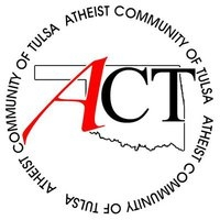 Logo for the Atheist Community of Tulsa