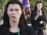 """UK CLIENTS MUST CREDIT: AKM-GSI ONLY\nEXCLUSIVE: Malibu, CA - Ireland Baldwin, who has left rehab after seeking treatment, stops by a local Starbucks in Malibu to grab an iced drink to-go. Alec Baldwin and Kim Basinger's daughter announced she was entering SOBA in Malibu on April 13 in a series of tweets, explaining she needed to """"get away for a little bit."""" """"She's doing great, really well,"""" an insider shared with Us Weekly of the 19-year-old, who is residing in Malibu while participating in some of the features offered through the program. Baldwin, who left sometime last week, has opted for a fresh new start with her hair color. The usually blonde star dyed her hair dark brown after exiting the program. """"I ain't no hollaback guuuuuur,"""" she captioned a selfie showing off her newly colored locks on Instagram on May 2.\n\nPictured: Ireland Baldwin\nRef: SPL1018278  050515   EXCLUSIVE\nPicture by: AKM-GSI / Splash News\n\n"""