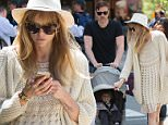 Jaime King and her family going for a walk in NYC.\n\nPictured: Jaime King, Kyle Newman and James Newman\nRef: SPL1019087  070515  \nPicture by: TMNY / Splash News\n\nSplash News and Pictures\nLos Angeles: 310-821-2666\nNew York: 212-619-2666\nLondon: 870-934-2666\nphotodesk@splashnews.com\n