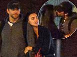 Picture Shows: Bradley Cooper, Irina Shayk  May 03, 2015\n \n First Look: Actor Bradley Cooper and model Irina Shayk confirm their relationship with a night packed full of PDA in New York City, New York.\n \n The pair went to a late showing of the play 'Hamilton' and made sure to hold hands, laugh, and even stop for a mini make-out session after the show. \n \n Exclusive\n UK RIGHTS ONLY\n Pictures by : FameFlynet UK © 2015\n Tel : +44 (0)20 3551 5049\n Email : info@fameflynet.uk.com
