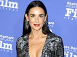 Mandatory Credit: Photo by Picture Perfect/REX_Shutterstock (4244797b)  Demi Moore  Santa Barbara International Film Festival's 9th Annual Kirk Douglas Award For Excellence In Film, Los Angeles, America - 16 Nov 2014  WEARING PRABAL GURUNG