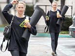 Picture Shows: Naomi Watts  May 06, 2015.. .. 'Diana' actress and busy mom Naomi Watts is spotted leaving a yoga class in Brentwood, California. .. .. Naomi, who was sporting a phone case with her sons on it, was surprised to find a parking ticket waiting on her ride... .. Exclusive - All Round.. UK RIGHTS ONLY.. .. Pictures by : FameFlynet UK © 2015.. Tel : +44 (0)20 3551 5049.. Email : info@fameflynet.uk.com