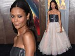 arriving to the Mad Max: Fury Road Hollywood Premiere held at the Chinese Theatre in Hollywood.\n\nPictured: Thandie Newton\nRef: SPL1019825  070515  \nPicture by: Nate Beckett / Splash News\n\nSplash News and Pictures\nLos Angeles: 310-821-2666\nNew York: 212-619-2666\nLondon: 870-934-2666\nphotodesk@splashnews.com\n