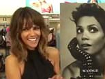 Halle Berry interviewed by Extra's Terri Seymour about her lingerie line, her charity work in Nicaragua and her experiences in motherhood.