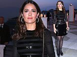 Mandatory Credit: Photo by Olycom SPA/REX Shutterstock (4756080d)\n Salma Hayek\n Pinault Foundation party at Biennale of International Contemporary Art, Venice, Italy - 06 May 2015\n \n