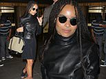 UK CLIENTS MUST CREDIT: AKM-GSI ONLY\nEXCLUSIVE: Zoe Kravitz resembles her mother Lisa Bonet as she exits the NBC studios in New York City, NY.\n\nPictured: Zoe Kravitz\nRef: SPL1019184  060515   EXCLUSIVE\nPicture by: AKM-GSI / Splash News\n\n