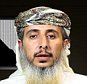"(FILES) - A file image grab taken off a propaganda video posted online on January 14, 2015, by Al-Malahem Media, the media arm of Al-Qaeda in the Arabian Peninsula (AQAP), purportedly shows one of the group's leaders, Nasser bin Ali al-Ansi delivering a video message from an undisclosed location and claiming responsibility for the attack on the French satirical magazine Charlie Hebdo's offices in Paris. A US air strike in Yemen last month killed the senior Al-Qaeda official who appeared in the video claiming the deadly January attack on Charlie Hebdo, SITE Intelligence Group said on May 7, 2015. AFP PHOTO / HO / AL-MALAHEM MEDIA === RESTRICTED TO EDITORIAL USE - MANDATORY CREDIT ""AFP PHOTO / HO / AL-MALAHEM MEDIA"" - NO MARKETING NO ADVERTISING CAMPAIGNS - DISTRIBUTED AS A SERVICE TO CLIENTS FROM ALTERNATIVE SOURCES, AFP IS NOT RESPONSIBLE FOR ANY DIGITAL ALTERATIONS TO THE PICTURE'S EDITORIAL CONTENT, DATE AND LOCATION WHICH CANNOT BE INDEPENDENTLY VERIFIED ===-/AFP/Getty Images"