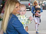 07.MAY.2015  - ESSEX  - UK *** EXCLUSIVE ALL ROUND PICTURES *** **STRICTLY NOT AVAILABLE FOR THE DAILY MAIL ONLINE**  BILLIE FAIERS SEEN ARRIVING AT JAM IN BRENTWOOD WITH BABY NELLIE IN A BABY SLING CARRIER, SHE WAS SEEN JUMPING OUT OF IT AS SHE WENT ABOUT HER NORMAL BUSINESS   BYLINE MUST READ : XPOSUREPHOTOS.COM ***UK CLIENTS - PICTURES CONTAINING CHILDREN PLEASE PIXELATE FACE PRIOR TO PUBLICATION *** **UK CLIENTS MUST CALL PRIOR TO TV OR ONLINE USAGE PLEASE TELEPHONE  442083442007