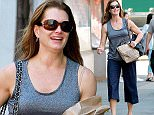 Mandatory Credit: Photo by Startraks Photo/REX Shutterstock (4764057h)\n Brooke Shields\n Brooke Shields out and about, New York, America - 08 May 2015\n Brooke Shields Sootted on Her Way Home\n