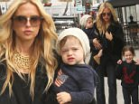 Rachel Zoe takes her sons Skyler and Kaius Berman out to lunch in Beverly Hills. Skyler is excited to have his photo taken.\nFeaturing: Rachel Zoe, Skyler Berman, Kaius Berman\nWhere: Los Angeles, California, United States\nWhen: 08 May 2015\nCredit: WENN.com