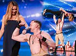 **STRICTLY EMBARGOED UNTIL 00:01 GMT SATURDAY MAY 9TH** 'Britain's Got Talent' contestants are seen on stage for the 2015 ITV series airing Saturday May 9th.\nPictured is contestant Daniel Crute lifting judge Amanda Holden.