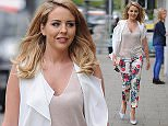 Lydia Bright looks pretty in floral as she heads to work at her boutique Bella Sorella in Loughton, Essex. She is keeping herself busy while Arg is at Mark Wrights stag do in Vegas.  Pictured: lydia bright Ref: SPL1018598  090515   Picture by: Jaimie / Splash News  Splash News and Pictures Los Angeles: 310-821-2666 New York: 212-619-2666 London: 870-934-2666 photodesk@splashnews.com