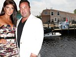"""Teresa and Joe Giudice list their Jersey Shore house for sale in New Jersey. The four-bedroom Beach Haven West house will be listed any moment now in the """"low $300,000 range. The home is located in Beach Haven West, New Jersey which is about two hours away from their main home in Towaco, New Jersey. The Giudice's have had a lot of fun summers at this house even dealing with a full renovation after Hurricane Sandy destroyed their home a few years back.....Pictured: Teresa and Joe Giudice's Jersey Shore Home..Ref: SPL841646  150914  ..Picture by: Jason Winslow / Splash News....Splash News and Pictures..Los Angeles: 310-821-2666..New York: 212-619-2666..London: 870-934-2666..photodesk@splashnews.com.."""