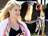 *** UK ONLY *** *** MAIL ONLINE OUT ***136754, Kate Upton seen shooting for William H. Macy's directed feature film 'The Layover' at Richmond. British Columbia, Canada - Wednesday May 6, 2015.  \nPHOTOGRAPH BY Pacific Coast News / Barcroft Media\nUK Office, London.\nT +44 845 370 2233\nW www.barcroftmedia.com\nUSA Office, New York City.\nT +1 212 796 2458\nW www.barcroftusa.com\nIndian Office, Delhi.\nT +91 11 4053 2429\nW www.barcroftindia.com