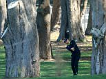 SAN FRANCISCO, CA - APRIL 29: Ian Poulter of England plays out of the trees for his third shot on the par 4, third hole during round one of the World Golf Championship Cadillac Match Play at TPC Harding Park on April 29, 2015 in San Francisco, California.  (Photo by David Cannon/Getty Images)